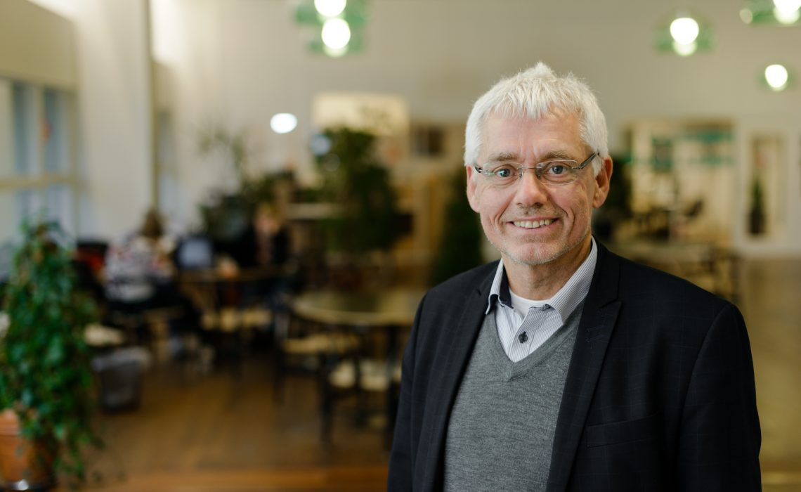 Erik Knudsen, rektor, UC Lillebælt