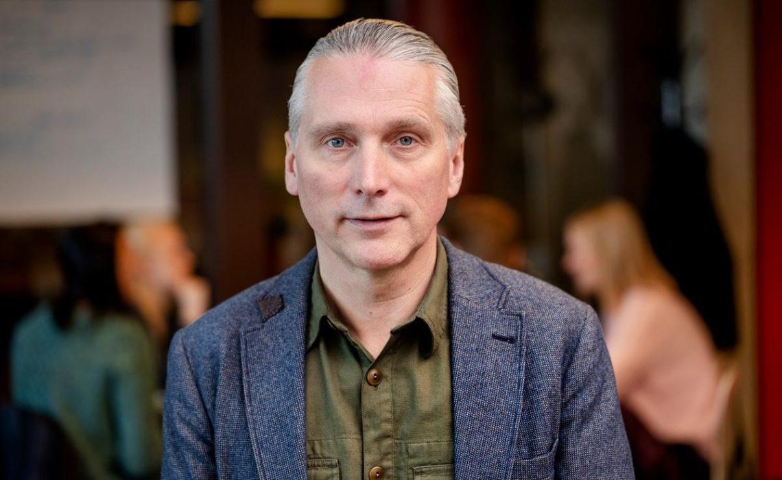 Chefforsker i samfundsvidenskab Roger Buch fra DMJX - her fotograferet til Danske Proffessions højskoler
