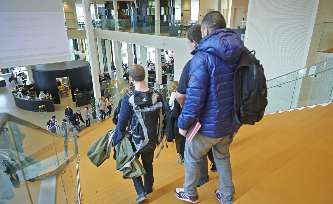 Drift og vedligehold af professionshøjskolernes bygninger, som fx UCSJs Campus Roskilde (foto), bliver fremover mere effektivt med nyt faciclty managementsystem.
